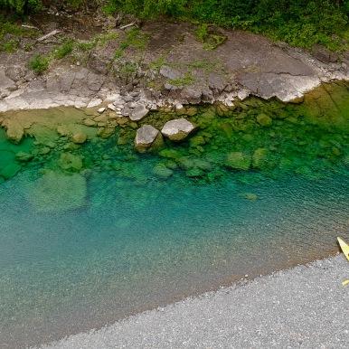 La Rivière Bonaventure en Gaspésie