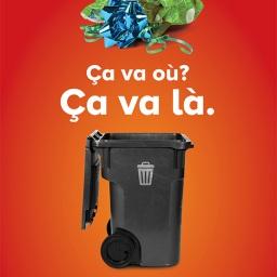 Tout emballage plastifié, métallisé ou ciré ainsi que les choux et les rubans d'emballage ne se recyclent pas. Encore mieux, optez pour des sacs réutilisables ou des cadeaux sans emballage!
