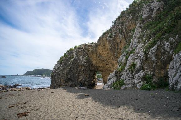 Le Rocher Percé sur la Breaker Bay